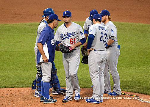 Ever move that Mattingly made on Tuesday night was too late - without exception. (Photo credit - Jon SooHoo)