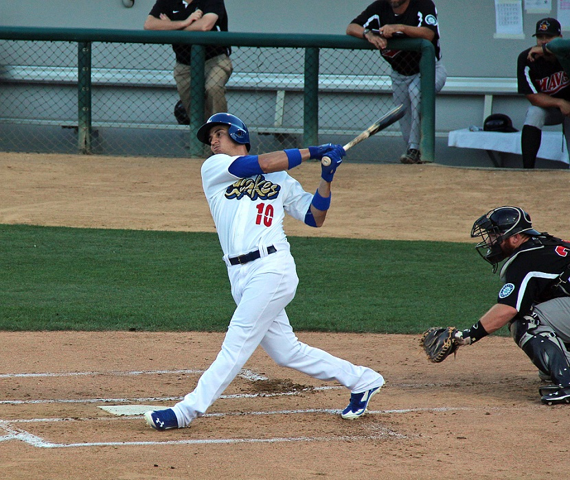 Through four games with the Quakes, Guerrero is 6 for 14 (.429) with four doubles, one triple, one RBI and four runs scored. If the Dodgers are showcasing him for a potential trade, he is doing everything right. (Photo credit - Ron Cervenka)
