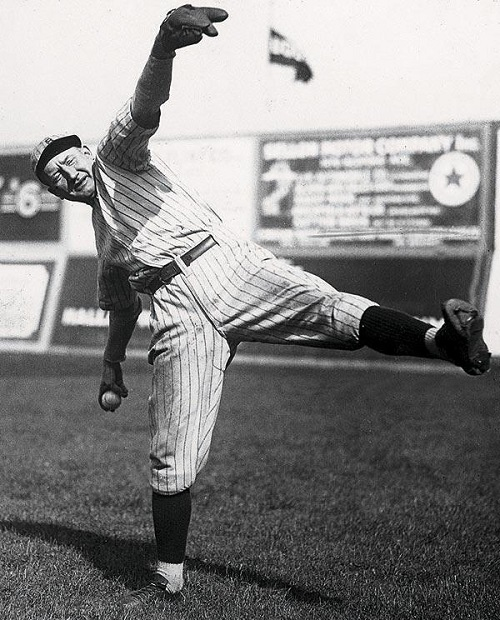 Brooklyn Dodgers Hall of Famer Dazzy Vance holds the all-time franchise record with his 15 consecutive wins set in 1924. (SI Picture Collection)