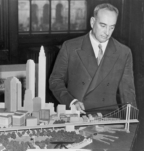 Although most Brooklyn Dodger fans blamed Walter O'Malley for moving their beloved team from Brooklyn to Los Angeles, the real culprit was New York City Parks Commissioner Robert Moses who flat out refused to work with O'Malley to keep the Dodgers in Brooklyn. (AP Photo)