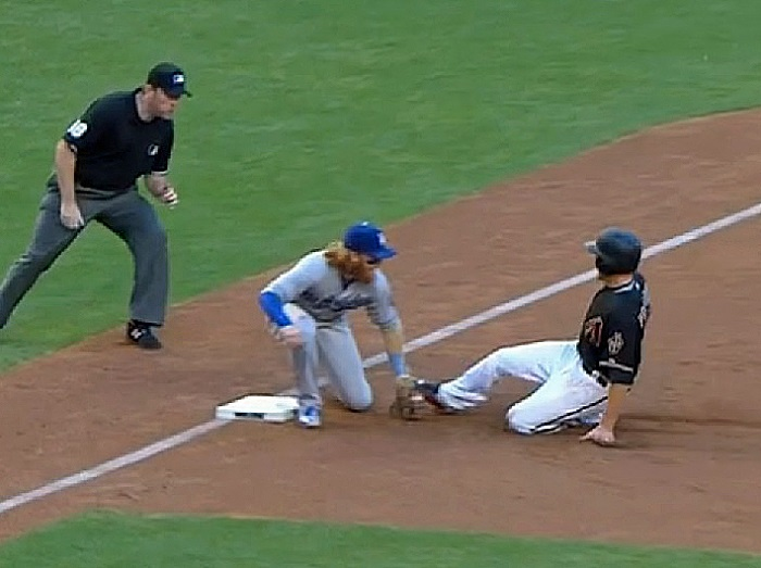 Turner is unquestionably the best Dodgers third baseman since they lost Adrian Beltre to free agency after the 2004 season ... and we ALL know how that one turned out. (Video Capture courtesy of SportsNet LA)