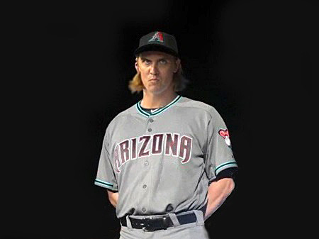 The Dbacks are hoping that by adding Zack Greinke and changing their uniforms (again) , they will draw more than an average of 25,680 per home game next season. (Photoshopped image courtesy of @Cap_Kaveman)
