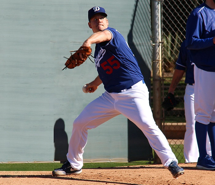 Blanton says he feels a lot less stress pitching out of the bullpen. (Photo credit - Ron Cervenka)