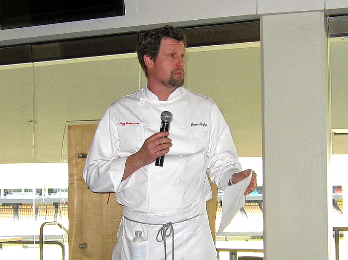 Dodger Stadium Executive Chef Jason Tingley. (Photo credit - Ron Cervenka)