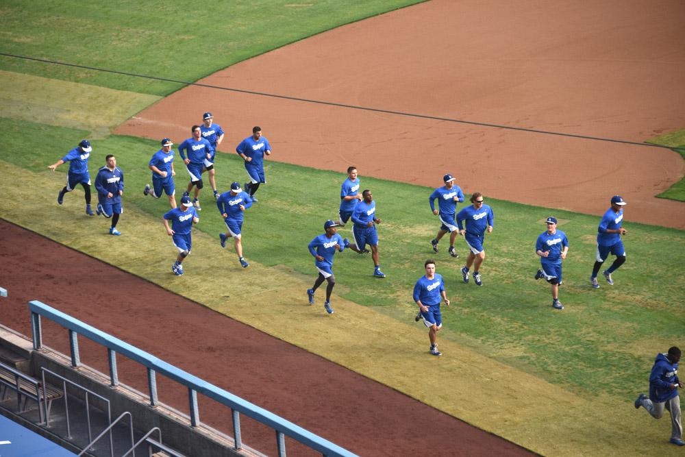 Dodgers Winter Development Camp. (Photo credit - Jon SooHoo)