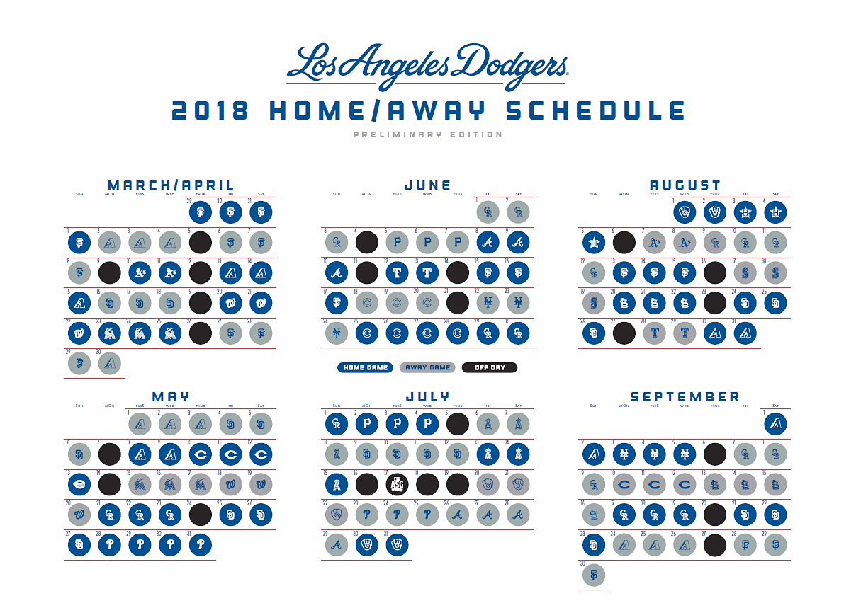 picture relating to Dodgers Schedule Printable named 100+ Mariner Tv set Routine 2018 Printable yasminroohi