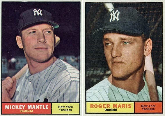 1961-topps-mantle-maris-cards