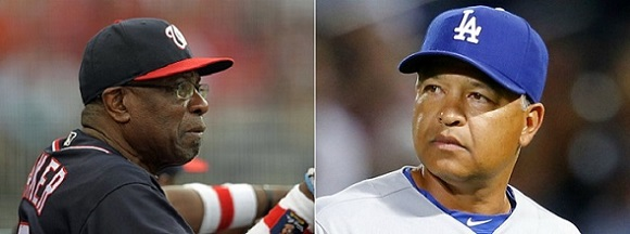 Image result for dusty baker and dave roberts